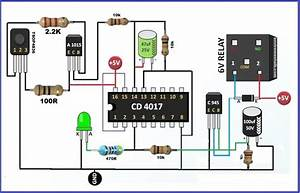 Ir Remote Control On Off Switch Circuit