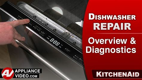 kitchenaid dishwasher overview diagnostics