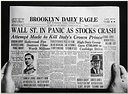 Learning From The Stock Market Crash Of 1929