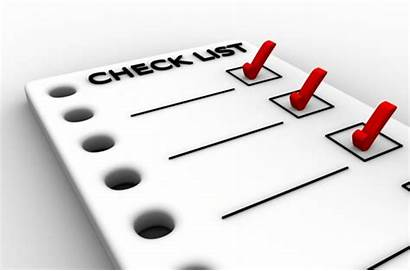 Action Checklist Items Lists Personal Presentation Check