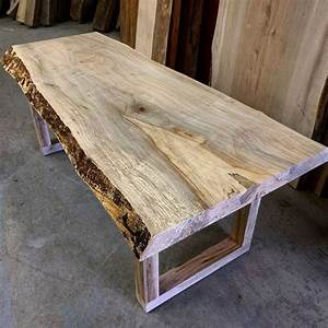 live edge spalted maple coffee table by barnboardstorecom With maple live edge coffee table