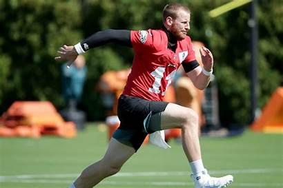 Carson Wentz Quarterback Why Practice Seeing Isn