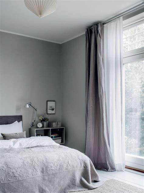 Bedroom Curtains Grey Walls by Best 25 Minimalist Curtains Ideas On