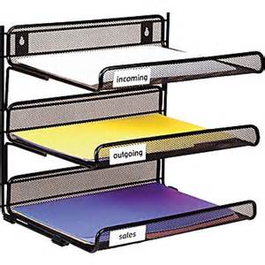 staples black wire mesh 3 tier desk shelf staples 174