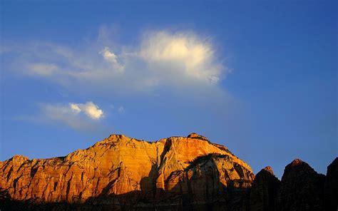 mountain  blue sky wallpaper hd wallpapers