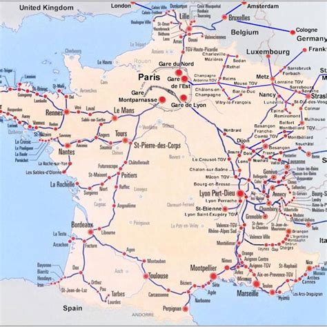 Maps Of France – BonjourLaFrance