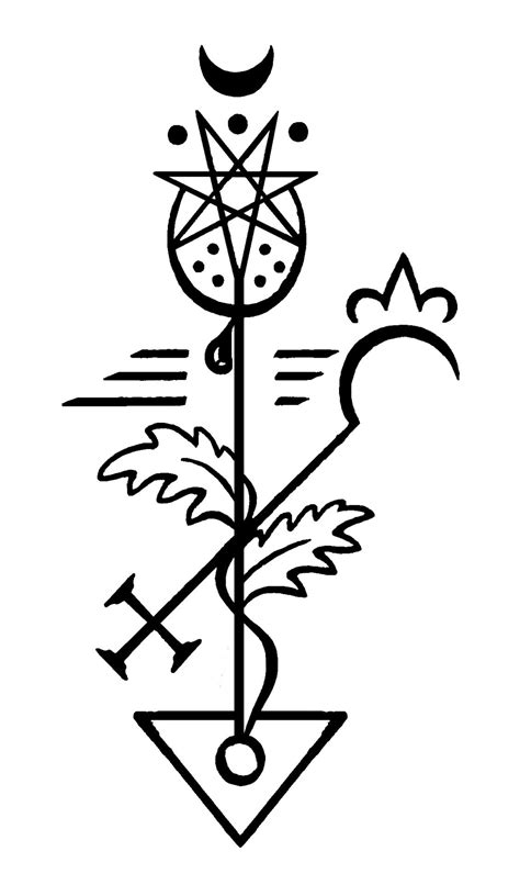 New Plant seals >:-)+ From top left to bottom... | Alchemy tattoo, Sigil tattoo, Esoteric symbols