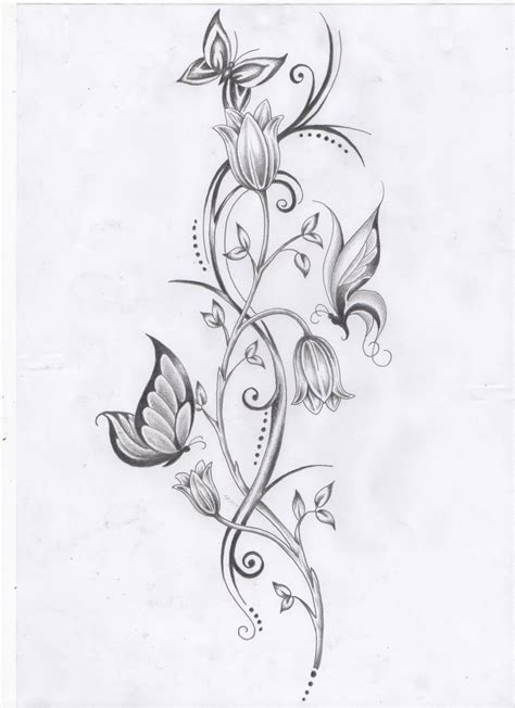 awesome vine tattoo designs