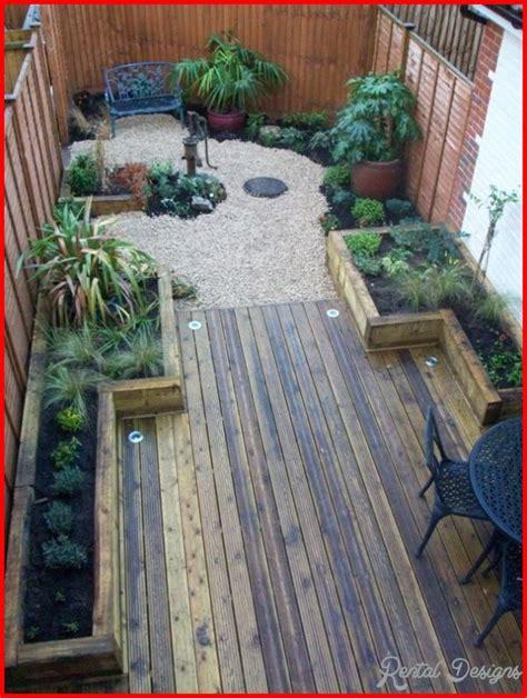 10 Long Thin Garden Design Ideas