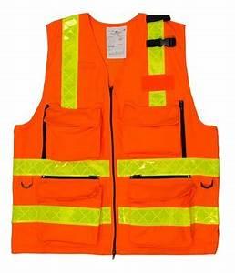 Gilet Fluo Orange : gilet hv multipoches orange fluo bandes prismes jaune ~ Medecine-chirurgie-esthetiques.com Avis de Voitures