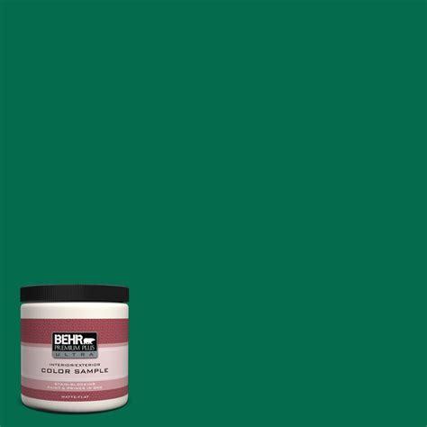 behr premium plus ultra 8 oz s h 470 precious emerald interior exterior paint sle s h 470u