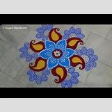 Rangoli Designs With Flowers And Colours | 480 x 360 jpeg 27kB