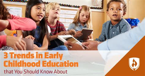 trends  early childhood education