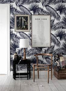 Tapete Einfach Entfernen : tropical palm leaf wallpaper exotic leaves palm leaf ~ Lizthompson.info Haus und Dekorationen
