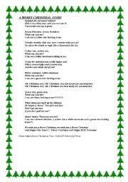english worksheets christmas play worksheets page 3