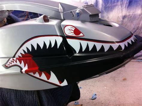 Custom Hand Painted Jet Ski  Show Ur Teeth Pinterest