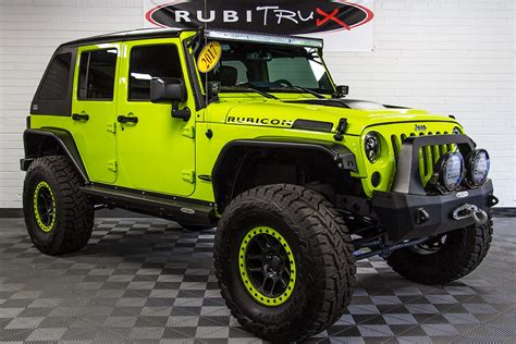 jeep wrangler rubicon unlimited hyper green