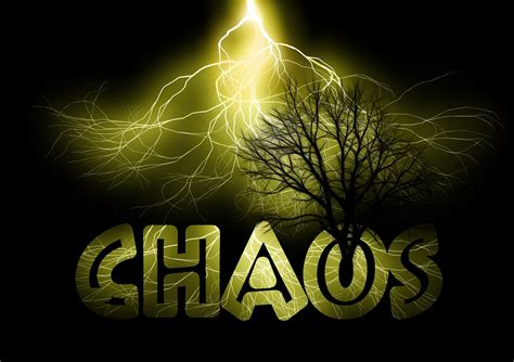 Images Of Chaos Free Illustration Chaos Regulation Chaos Theory Free