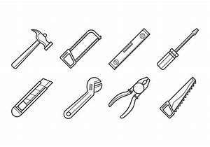 Free Carpenter Tools Icon Vector - Download Free Vector