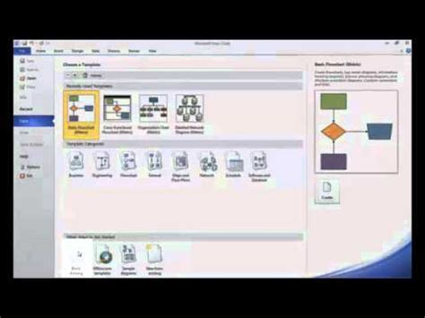 intro  creating basic process flow diagrams  visio