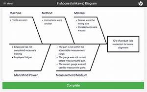 Fishbone  Ishikawa  Diagram - Collect  U0026 Track Data