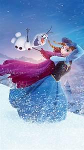 2014 Halloween Frozen Anna Olaf iPhone 6 plus Wallpaper ...