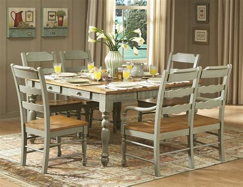 Distressed Dining Room Table And Chairs Marceladickcom