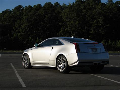 driven 2011 cadillac cts coupe