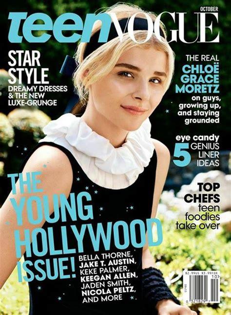 Chloe Grace Moretz Covers Teen Vogue, Talks Brooklyn ...