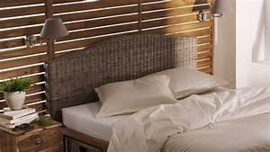 Tete De Lit Bambou : meuble cuisine dimension tete de lit en rotin ~ Teatrodelosmanantiales.com Idées de Décoration