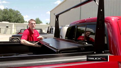 bakflip cs tonneau cover review  truck rack system