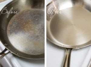 rusted stainless steel pan    revere ware cookware