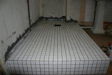 "flooring   How do you build a ""wet room"" style bathroom"