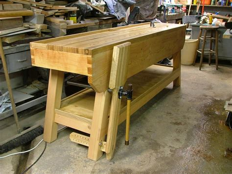 Woodworking Bench by My Work Bench Kiltedkacher S Woodworking Site