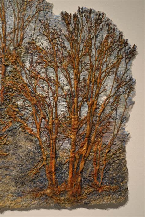 fiber artist journey trees as fiber art