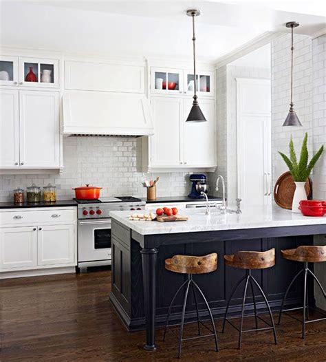Navy Blue Kitchen Islands  Classic Or Trendy?