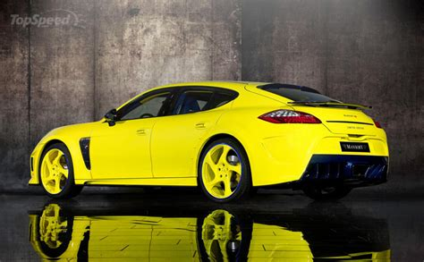 yellow porsche panamera 2011 porsche panamera yellow edition by mansory modification