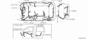 Nissan Quest Harness Body  No2  Harness Sub  Body  Other