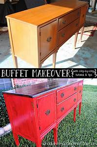 Thrift Store Furniture Makeover Dresser ...