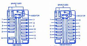 Chrysler Conquest 2 6l 1987 Fuse Box  Block Circuit Breaker Diagram