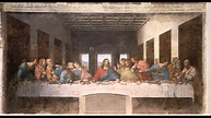 The Last Supper Pre and Post Restoration - YouTube
