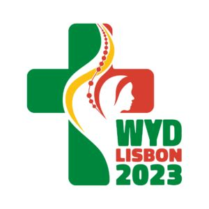 What is global youth service day? The World Youth Day 2023 Logo - Verso Ministries
