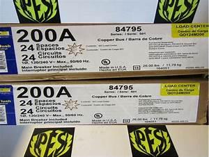 New Square D Qo124m200 200 Amp 120  240volt Main Breaker 1