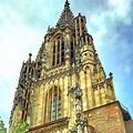 Ulm Minster The church consisting of the longitudinal ...