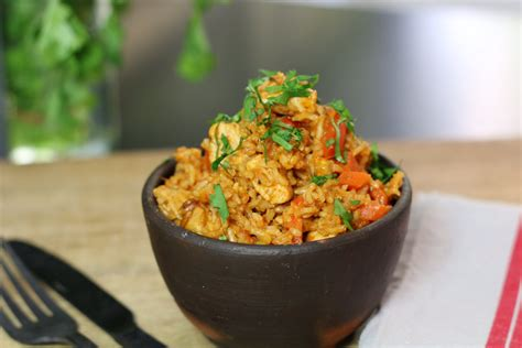 riz au poulet ou quot one pot chicken rice quot hervecuisine com