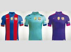 Novo uniforme do Barcelona terá primeira leva sem