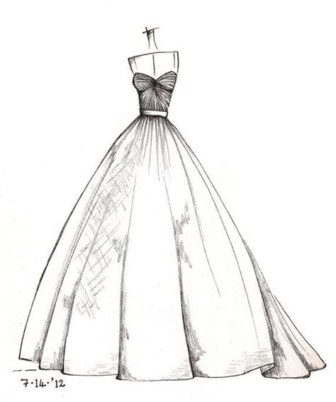 dress pencil drawing projects   dress drawing wedding dress sketches dress sketches