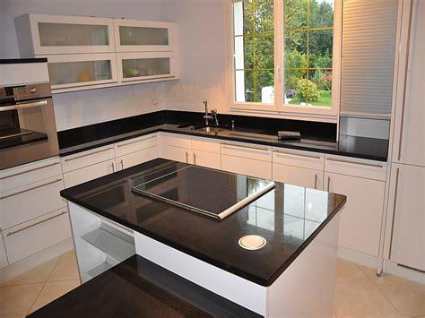 cuisine granit noir cuisine granit noir prix