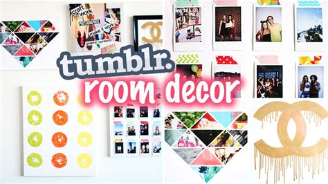 Diy Tumblr & Pinterest Inspired Room Decor!