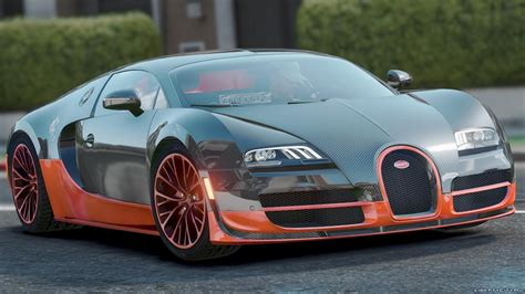 Bugatti Veyron Super Sport '2011 1.0 For Gta 5